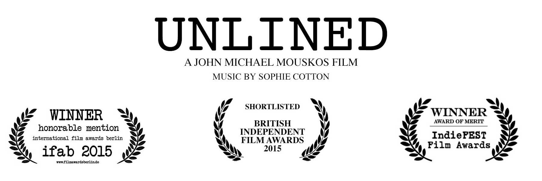 Unlined Logo - Written by John Michael Mouskos